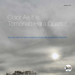 "UNAHQ 1018 ""Color As It Is"" Tomonao Hara Quartet"
