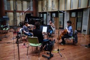 """from """"Afterglow"""" Strings4  Shiori Takeda (Vn1) Atsuki Yoshida (Vn2) Marina Suzuki (Va) Kazune Koshikawa (Vc)"""