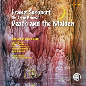 Franz Schubert No. 14 in D minor Death and the Maiden UNAQE 2009 Cover